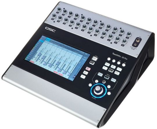 MESA DE SOM DIGITAL QSC TOUCH MIX 30