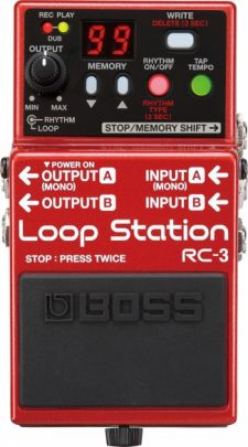 Pedal Boss RC3 Loop Station