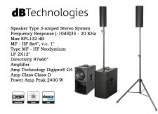 DB TECHNOLOGIES ES1203