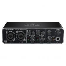 INTERFACE DE AUDIO BEHRINGER  UPHORIA UMC202HD